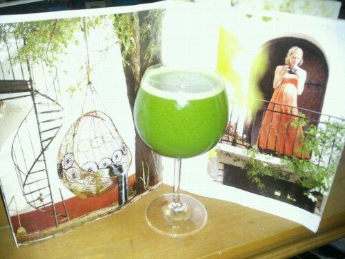 Crazy sexy diet green drink