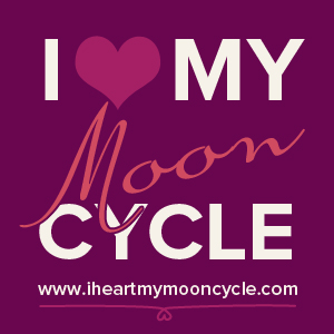 i heart my moon cycle