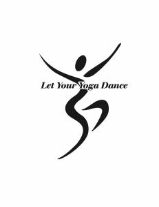 let your yoga dance logo