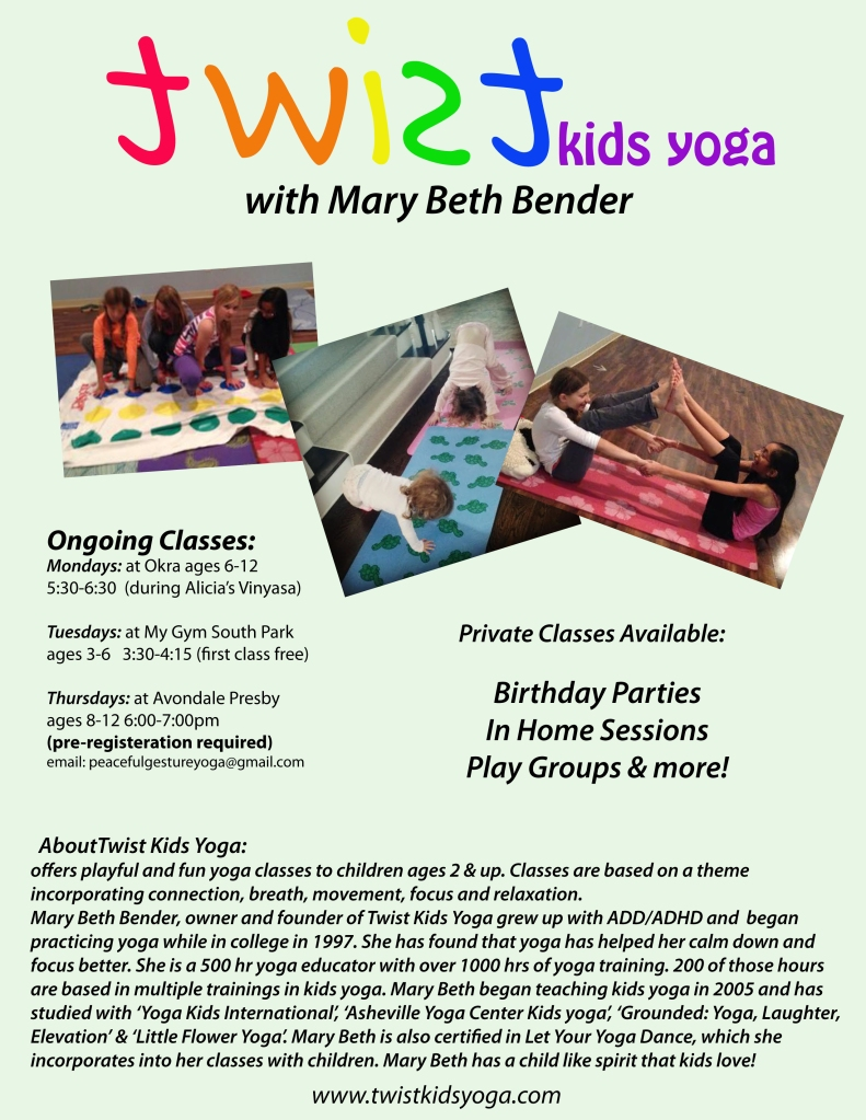 about twist kids yoga